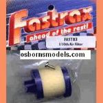 CML Fastrax: FAST83Y Air Filter Rebuildable 1/10th Scale Yellow